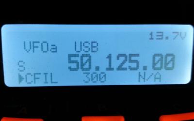 Essai compatibilité bande 50 Mhz
